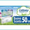Buono sconto Cottony da Carrefour