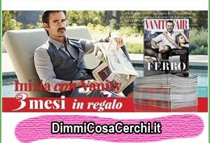 3 copie omaggio della rivista Vanity Fair (coupon)