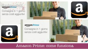 Amazon Prime: come funziona
