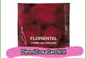 Campione omaggio fialetta Comme des Garcons Floriental