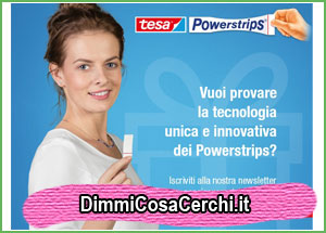 Campioni omaggio Powerstrips by Tesa