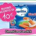 Buono sconto Mellin da 10 euro