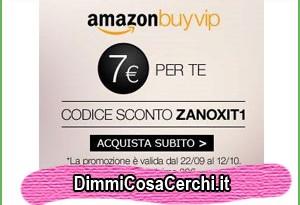 Codice sconto Amazon buyvip
