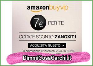 2500ee61d8 Codice sconto Amazon buyvip | DimmiCosaCerchi