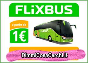 FlixBus, viaggiare a solo 1€