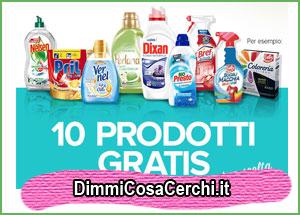 10 detersivi gratis con Casa Henkel