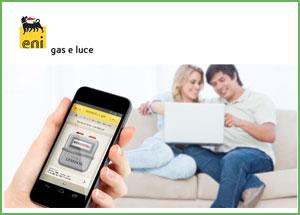 lettura consumi effettivi gas eni