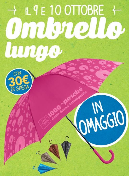 ombrello in regalo da Eurospin