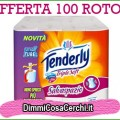 100 rotoli di cartaigenica Tenderly Triplesoft