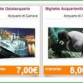 Buoni sconto Acquario di Genova