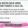 Buono sconto Amazon in regalo con Intesa San Paolo