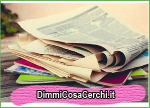 Come riciclare la carta dei quotidiani