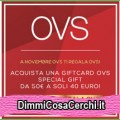 Giftcard OVS sconto 10€