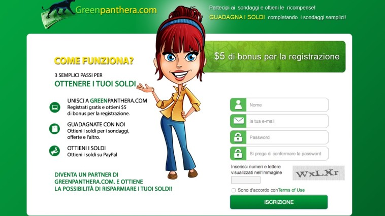 Sondaggi Greenpanthera