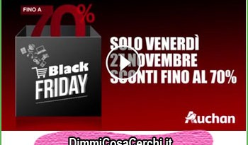 Auchan Black Friday