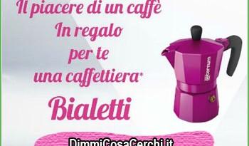 Caffettiera Bialetti omaggio con L'Oreal