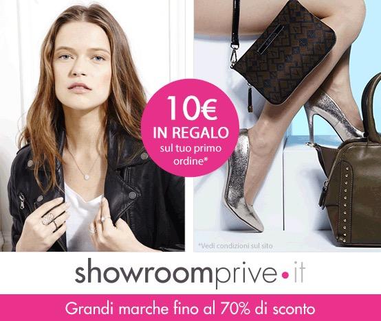 Showroomprive, 10€ di sconto per i nuovi iscritti