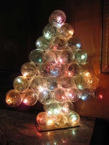 Mini Lighted Christmas Trees