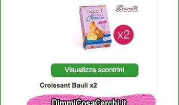 Cornetti Bauli quasi gratis