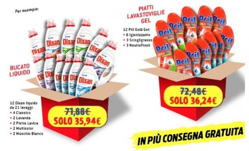 Detersivi Henkel, prezzi da grossista