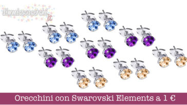 Orecchini con Swarovski Elements