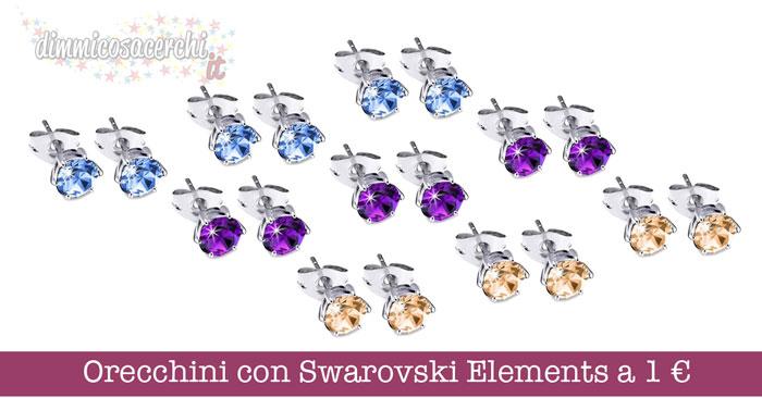 Orecchini con Swarovski Elements
