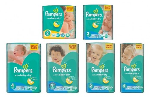Pannolini Pampers in offerta su Groupon