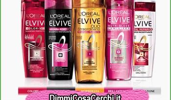 Shampoo Elvive, diventa tester e ricevi un kit omaggio