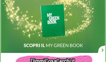 My Green Book in regalo con Activia