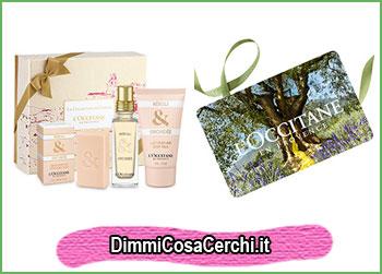 San Valentino L'Occitane, cofanetto regalo in omaggio