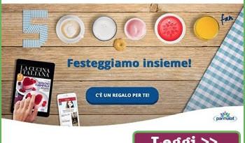 Abbonamento digitale omaggio con Parmalat