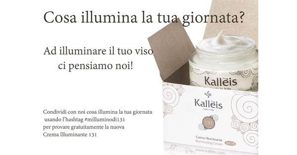 Campione omaggio Kalleis crema Illuminante 131
