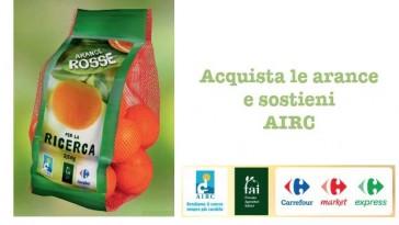 Con le arance rosse sostieni AIRC