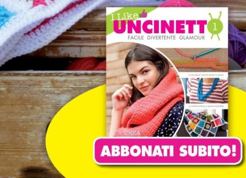 I like Uncinetto, scopri la raccolta a fascicoli Hascette