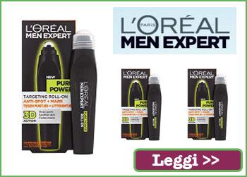 L'Oreal Men Expert Eye Roll-on su Toluna