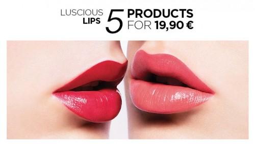 Promozione Kiko, 5 prodotti labbra
