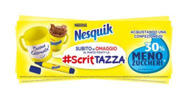 Tazza Nesquik in regalo (premio sicuro Scrittazza)