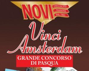 Uovo di Pasqua Novi, vinci Amsterdam con il concorso