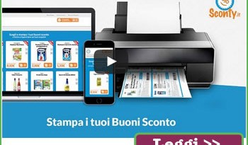 Video tutorial buoni sconto per Sconty.it
