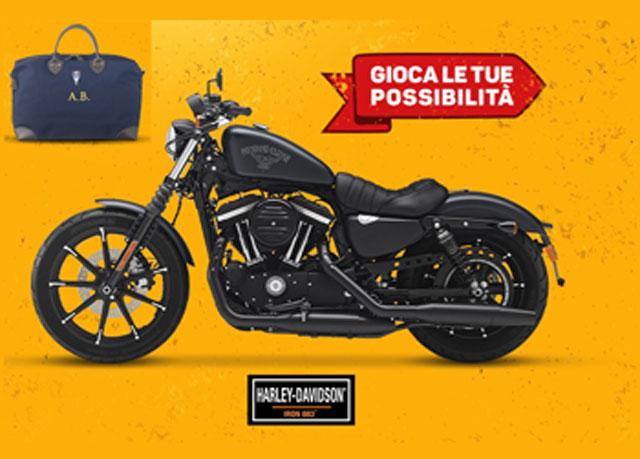 Vinci Harley Davidson e borsone con il concorso Tuc