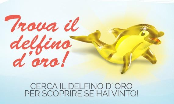 Vinci buoni spesa Chicco con il concorso Trova il delfino D'oro de Agostini