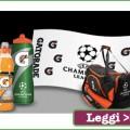 Vinci kit Gatorade con il concorso Mediaset Premium