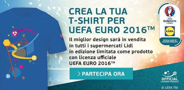 Vinci magliette con il concorso LIDL