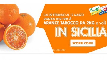 Con le arance tarocco vinci la Sicilia