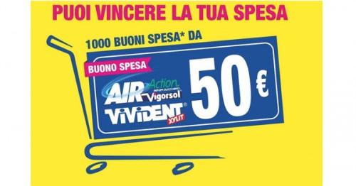 Concorso Vigorsol, vinci 1.000 Buoni spesa