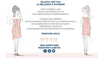 "Diventa tester Rilastil con ""Rilastil for you"""