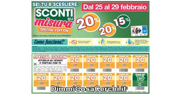 Sconti su misura Carrefour di Febbraio