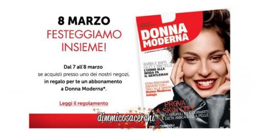 Abbonamento Donna Moderna omaggio con Fiorella Rubino