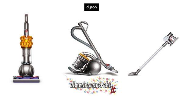 Aspirapolveri Dyson a prezzo scontato