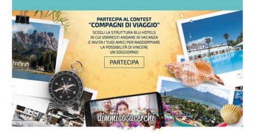 Blu Hotels, partecipa al concorso Compagni di Viaggio